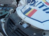 Un sătmărean a tamponat maşina Poliţiei