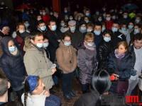 UPU Ucide! Protest la Spitalul Județean (FOTO&VIDEO)
