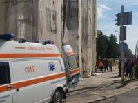 Accident de muncă la Satu Mare. Un bărbat a căzut în gol de pe o schelă