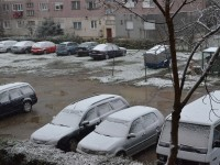 Prima ninsoare la Satu Mare. Județul, sub cod galben (FOTO)
