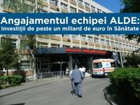 Angajamentul echipei ALDE: Investiţii de peste un miliard de euro în Sănătate