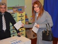 Aurelia Fedorca și Ioana Bran au votat pentru o Românie a tuturor românilor