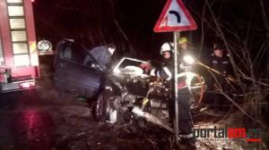 Cauza accidentului de aseară de la Ardud. Ce spun polițiștii (FOTO)