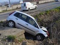 Accident lângă Satu Mare. Un bărbat grav rănit