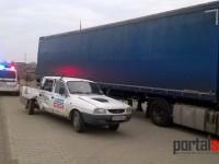 Accident pe Lucian Blaga (FOTO)