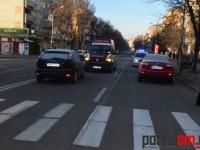 Accident grav la Satu Mare. O femeie rănită pe trecerea de pietoni (FOTO)