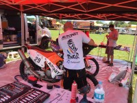 Mani Gyenes a ajuns în Paraguay. Pregătit de Dakar 2017! (VIDEO)