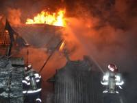 Incendii la Beltiug și Ardud. Pompierii au intervenit rapid