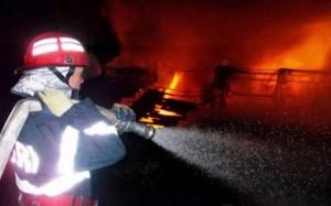 Concluziile pompierilor după incendiul de azi noapte de la Turț