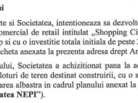 Noile planuri NEPI: Mall de 28 de mil. euro și pasarelă peste Someş