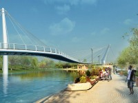 Viceprimarul Albu propune un pod pietonal peste Someş