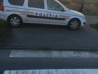 Radar al Poliţiei, pe spaţiul verde şi trecerea de pietoni. E moral să aplice amenzi? (FOTO)