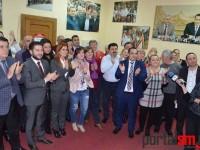 Bucurie la PSD Satu Mare. Aplauze după exit-poll-uri