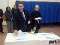 Liberalul Romeo Nicoară a votat pentru o țară cu politicieni normali