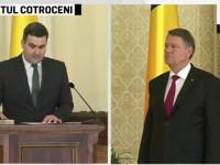 Ministrul Apărării, sătmăreanul Gabriel Leș a depus jurământul