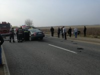 Accident frontal pe DN 19. 7 răniţi! (FOTO)