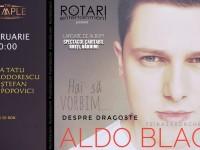 """Aldo Blaga își dăruiește primul său album unei cauze nobile: """"Despre Dragoste"""""""