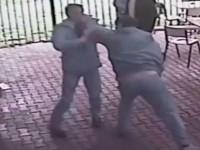 Bătut cu pumnii în fața unui bar din Țara Oașului. Victima a ajuns la spital
