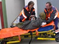 Sătmărean degerat, salvat în ultimul moment. Este internat în spital