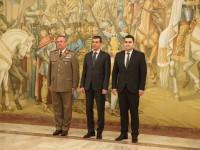 Gabriel Leș, primit de şefii armelor la Ministerul Apărării (VIDEO)