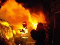 Incendiu de proporții în județ. Zeci de pompieri intervin (VIDEO)
