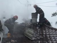Incendiu lângă Satu Mare. Pompierii au intervenit cu două autospeciale