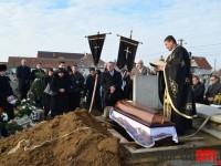 Alexandru Panea, condus pe ultimul drum. Cortegiu funerar impresionant (FOTO)