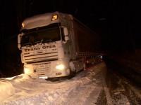 TIR-uri blocate 12 ore la Huta Certeze (FOTO)