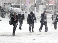 După ger, la Satu Mare vine viscolul și zăpada. Ce spun meteorologii