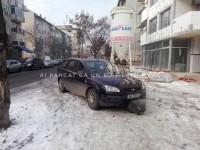A parcat ca un bou. Pietonii din Carpaţi s-au răzbunat (FOTO)