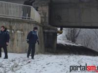 Bărbat spânzurat sub Podul Decebal. Primele informații din anchetă (FOTO)
