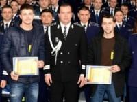 Student sătmărean, premiat de Poliţia Cluj. A prins un tâlhar ce agresa o femeie