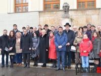 Eminescu, omagiat la Satu Mare. Ziua Culturii (FOTO)