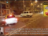 Accident pe Careiului. Un Transporter a lovit un Matiz (FOTO)