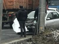 Accidentul de pe Careiului. Un Logan a intrat frontal într-un Tir (FOTO&VIDEO)