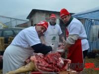 Concurs de tăiat porci organizat de UDMR (Galerie FOTO)