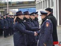 Patru noi pompieri au depus jurământul (FOTO& VIDEO)