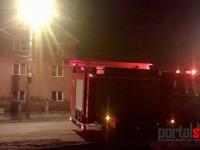 Incendiu la hornul unei locuinţe din Satu Mare (FOTO)