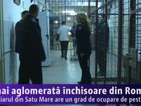 Satu Mare: Cea mai aglomerată închisoare din România (VIDEO)
