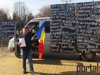 Protest împotriva sistemului la Satu Mare (FOTO&VIDEO)