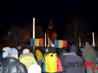Imaginile protestului de sâmbătă seara (FOTO)
