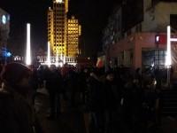 Sătmărenii în stradă a patra seară consecutiv (LIVE&FOTO&VIDEO)