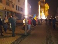 Protest timid sâmbătă seara la Satu Mare (FOTO& VIDEO)