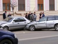 Accident în lanț în județ. O persoană rănită
