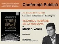 Tezaurul României de la Moscova, conferință și lansare de carte la Satu Mare
