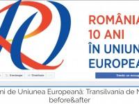 "Zece ani de UE. Transilvania de Nord ""before&after"""