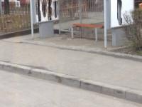 Staţii noi de autobuz, distruse la Satu Mare (FOTO)