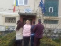 Protest la DJTS Satu Mare. Nemulțumiți de salarii