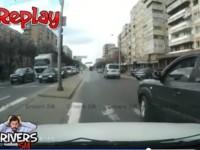 Accident surprins live la Crinul. Şoferul care l-a provocat, a plecat bine mersi (VIDEO)
