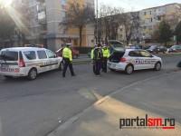 Accident lângă Spitalul Judeţean. Un motociclist a dat peste o bătrână (FOTO)